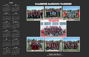 Fallbrook Marching Warriors Horizontal Poster 2020