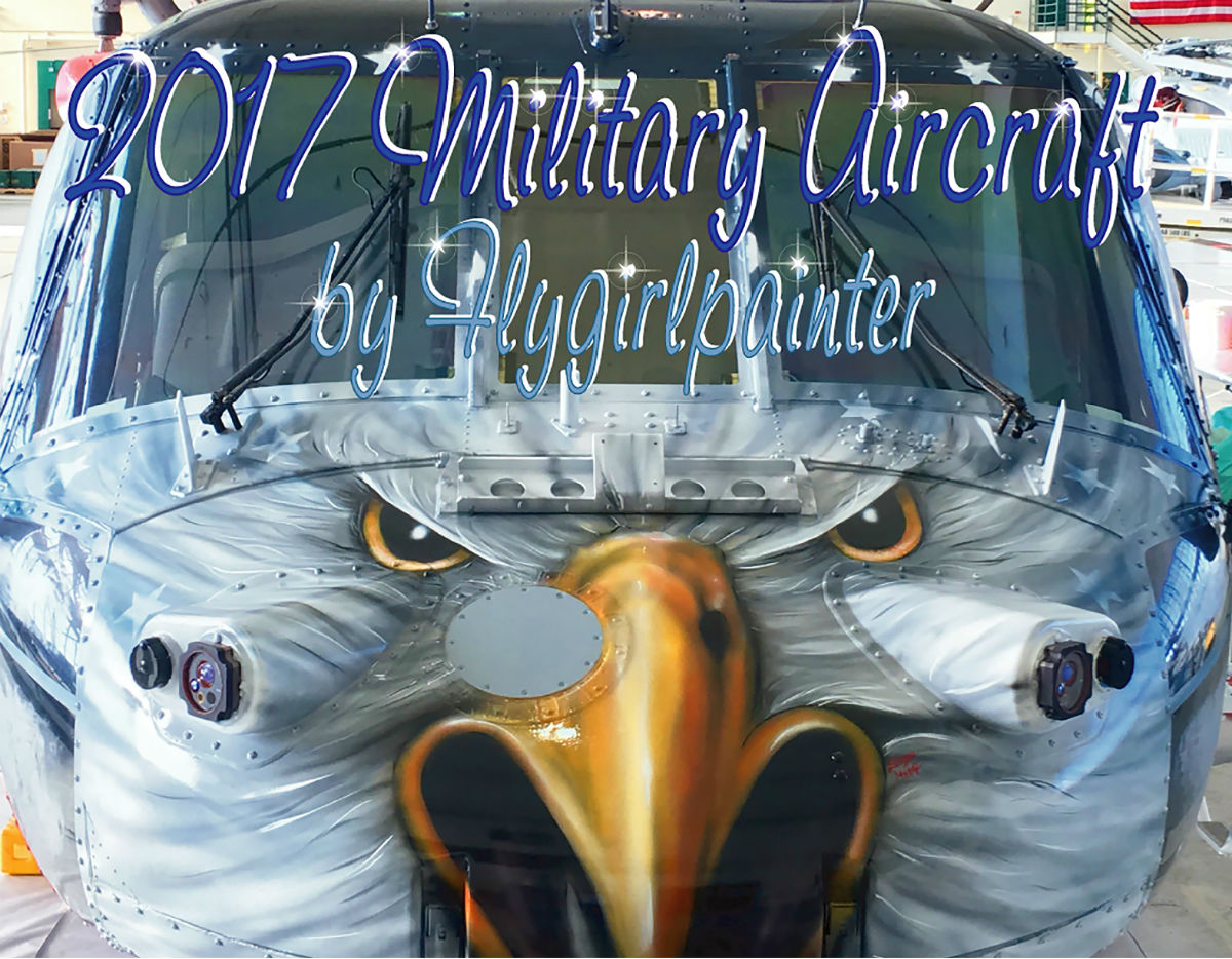2017 Military Aircraft by Flygirlpainter