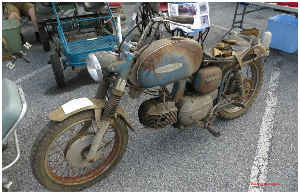 Rusted Motorcycle