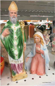 St. Patrick and Mary Poster
