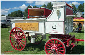 White Wagon Poster