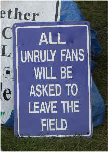 Unruly Fan Sign Card