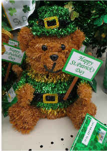 St. Patrick's Day  Bear 1