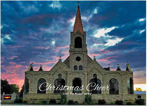 Christmas Cheer Church Card