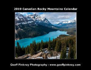 2019 Canadian Rocky Mountains Calendar