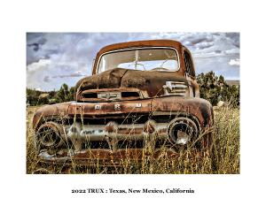 TRUX 2020 Calendar: Texas, New Mexico, California