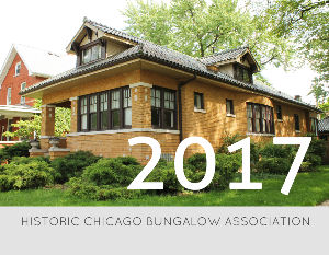 2017 Chicago Bungalow Calendar