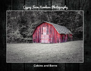 Cabins and barns
