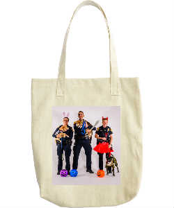 Cops and Paws October Tote