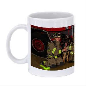 Tails and Ladders Firefighting Women Mug