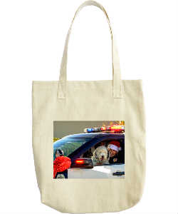 Cops and Paws December Tote