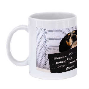 Cops and Paws Cover Mug