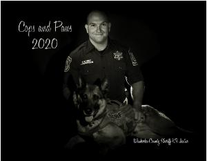 Cops and Paws 2020 Calendar