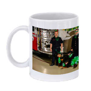 Tails and Ladders Rottweiler Trio Mug