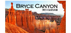 2021 Bryce Canyon Desk Calendar