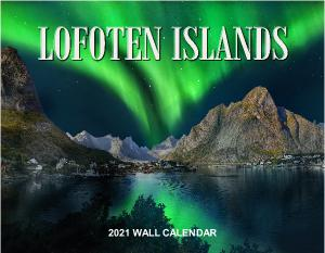 2021 Lofoten Islands Norway Wall Calendar