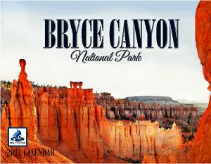 2021 Bryce Canyon National Park Wall Calendar