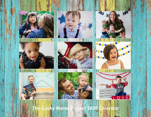 The Lucky Mama Project 2020 Calendar