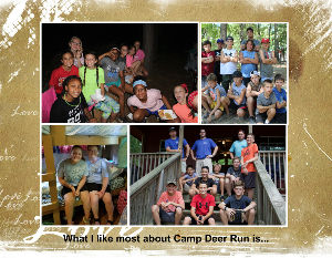 What I like most about Camp Deer Run is.. Calendar