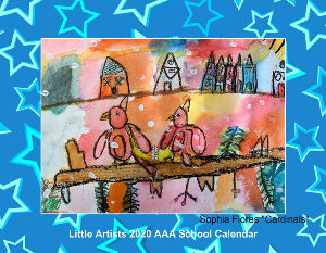 Little Artists 2010 Calendar