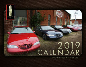 Lincolns of Distinction Calendar