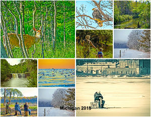 Michigan 2018 Calendar