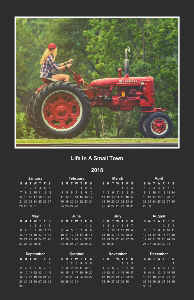 Country Girl Calendar