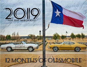 12 Months Of Oldsmobile : April 2019 - March 2020