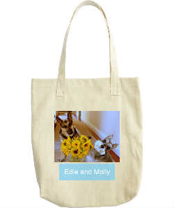 Edie and Molly Tote Bag