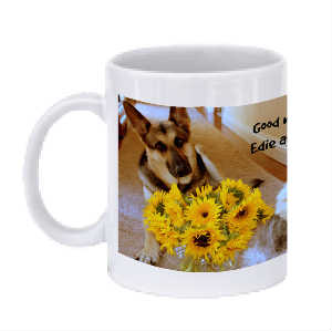 Edie and Molly coffee mug