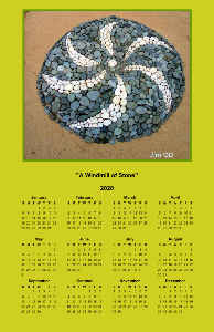A Windmill of Stone Poster Calendar