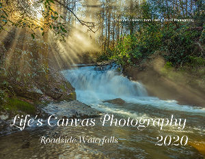 Lifes Canvas Photography Roadside Waterfalls 2020