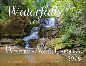 Waterfalls of Western North Carolina - 5th Edition