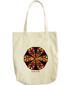 Look Within Canvas Tote
