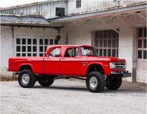 Dodge Truck W200 Crewcab 12V Conversion
