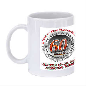 NECOA 60th Anniversary Coffee Mug