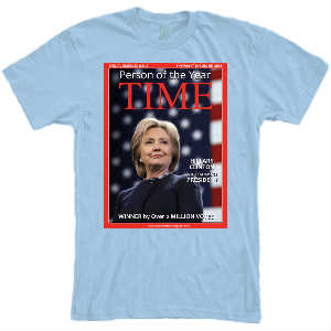 TIME Hillary Cover TShirt