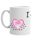 Kitty Heart Mug