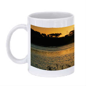 Sunrise Lagoon Coffee Mug