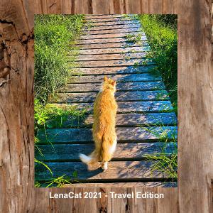LenaCat Calendar 2021 - Travel Edition