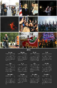 Poster Calendar - A Year In Photos