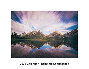 2020 Beautiful Landscape Calendar