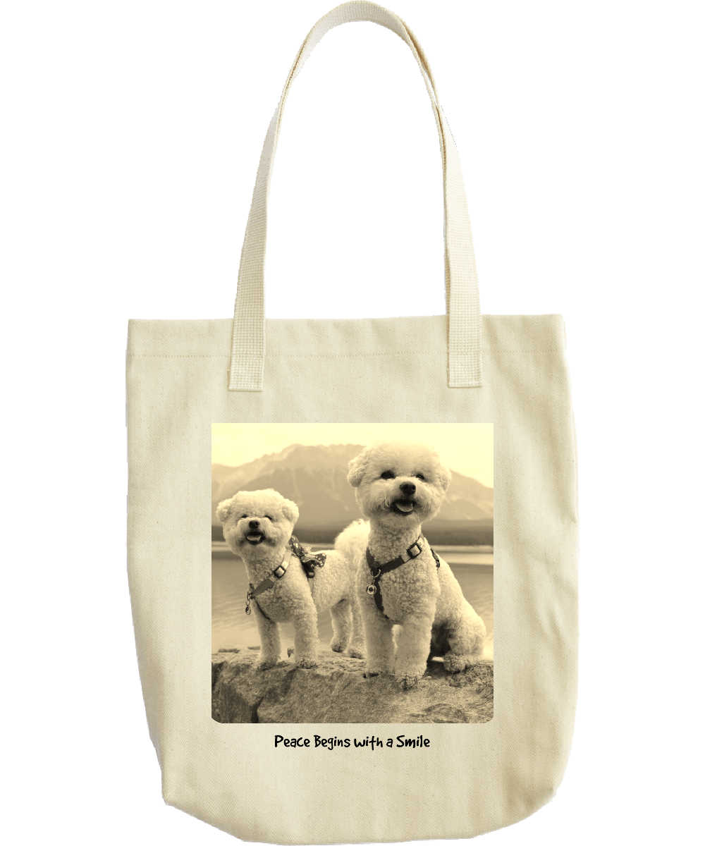 Gabby and Poppy Smile Tote