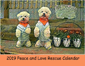 2019 Peace and Love Calendar