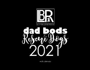 2021 Dad Bods & Rescue Dogs Wall Calendar