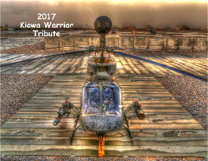 2017 Kiowa Warrior Tribute Calendar