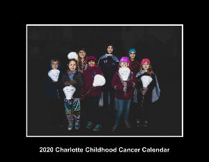 2020 Charlotte Childhood Cancer Wall Calendar