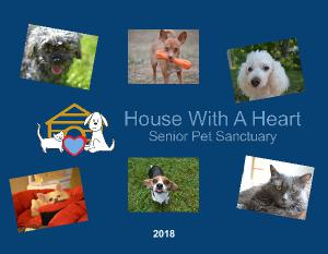 House with a Heart 2018 Annual Calendar