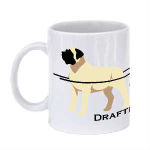 Mastiff Drafting/Carting Mug