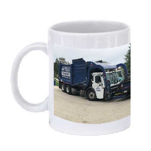 Lakeshore Recycling Systems Garbae Truck Mug